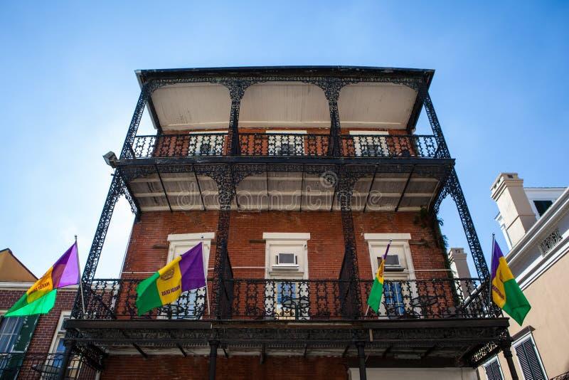 De Festiviteiten van New Orleans stock foto