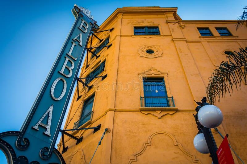 17 DE FEVEREIRO - SAN DIEGO: O teatro do balboa o 17 de fevereiro, 20 foto de stock royalty free