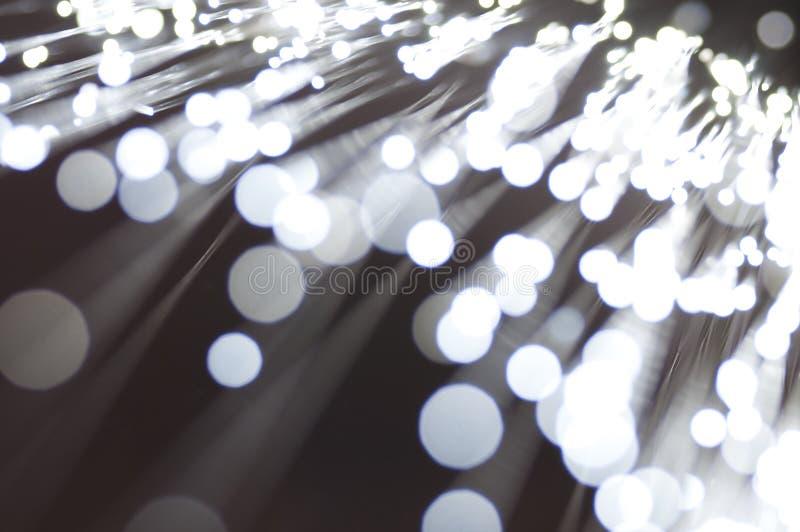 De fibra óptica fotografía de archivo