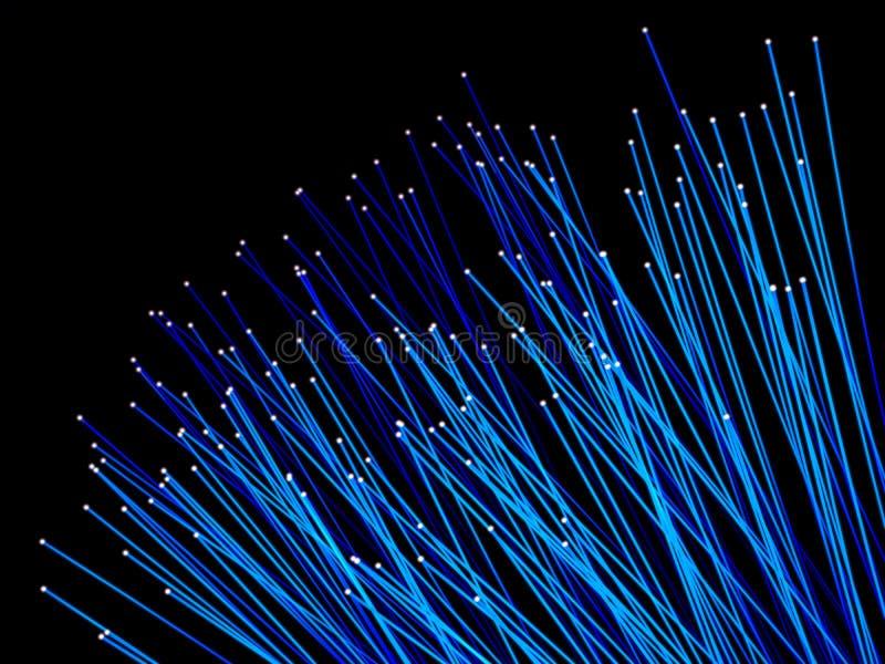 De fibra óptica ilustração do vetor