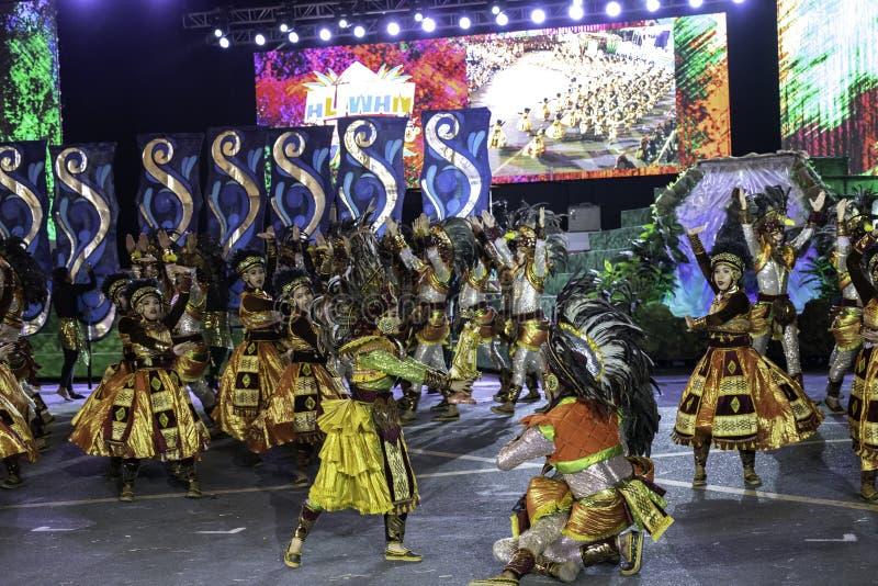 De fiesta Manilla van de Aliwandans 2019 Filippijnen royalty-vrije stock afbeeldingen