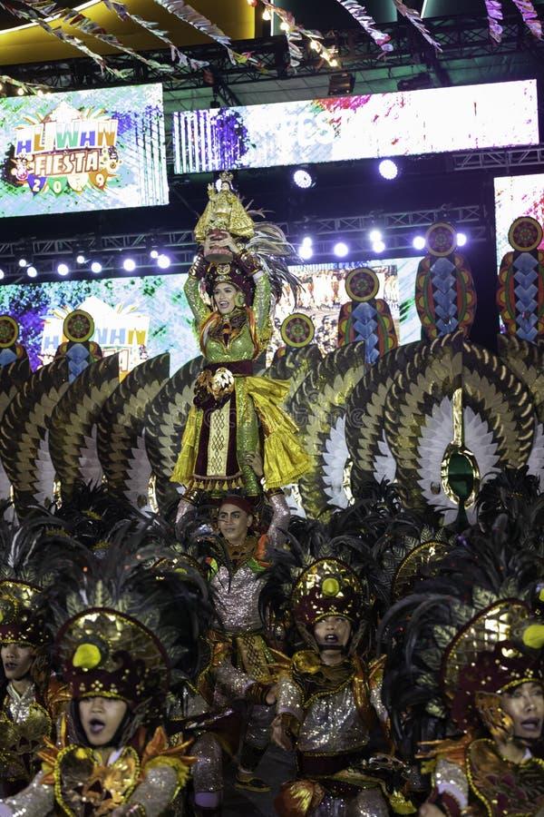 De fiesta Manilla van de Aliwandans 2019 Filippijnen stock afbeelding