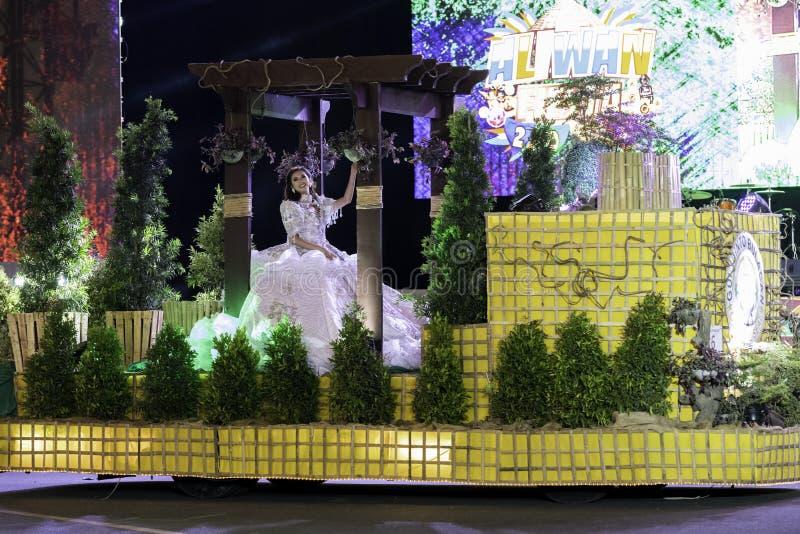 De fiesta Manilla van de Aliwandans 2019 Filippijnen royalty-vrije stock afbeelding