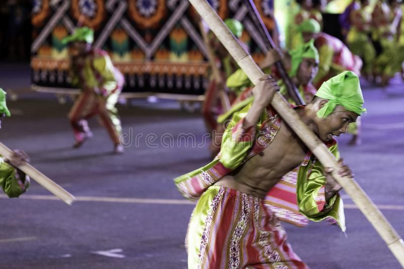 De fiesta Manilla van de Aliwandans 2019 Filippijnen stock fotografie