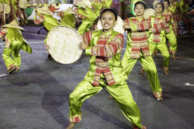 De fiesta Manilla van de Aliwandans 2019 Filippijnen royalty-vrije stock foto's