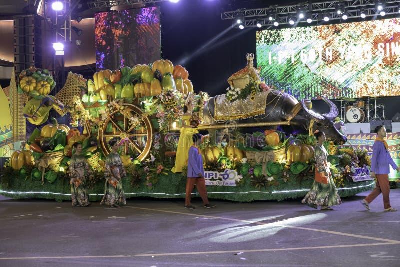De fiesta Manilla van de Aliwandans 2019 Filippijnen royalty-vrije stock foto