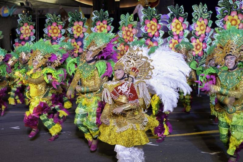 De fiesta Manilla van de Aliwandans 2019 Filippijnen royalty-vrije stock fotografie
