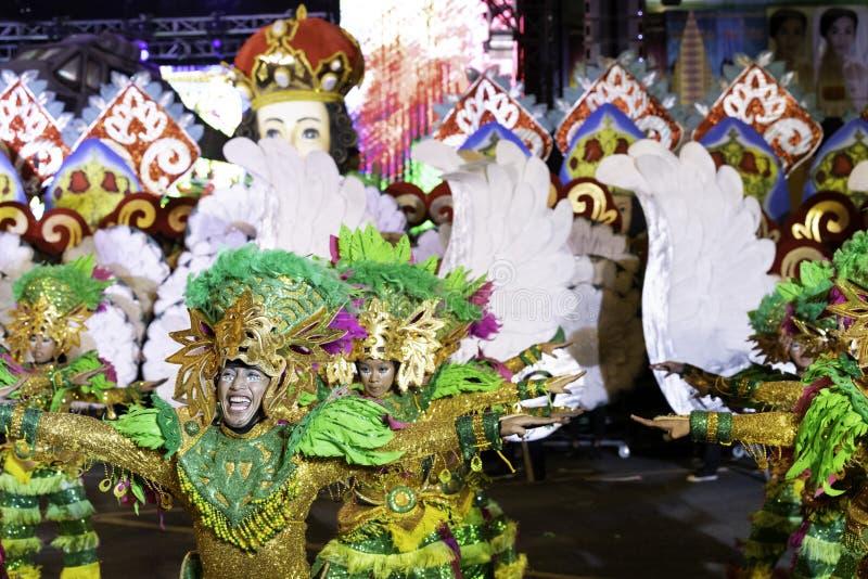 De fiesta Manilla van de Aliwandans 2019 Filippijnen stock foto's