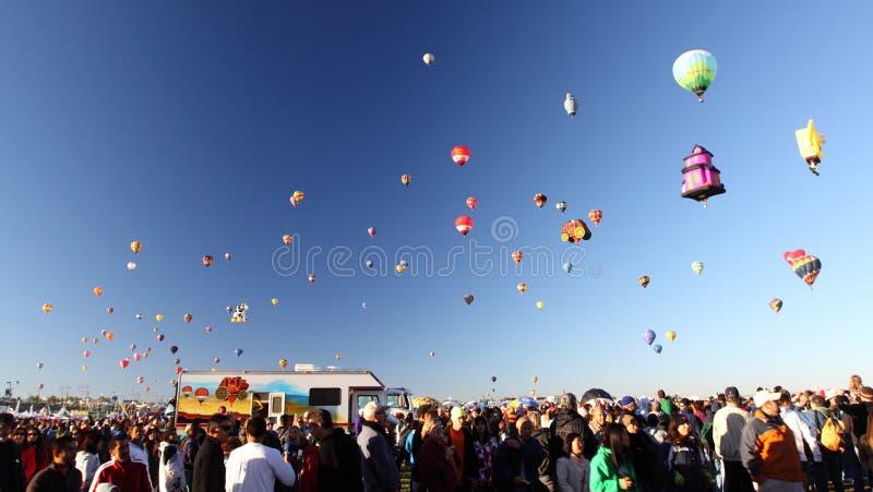 De Fiesta van de Ballon van Albuquerque royalty-vrije stock afbeeldingen