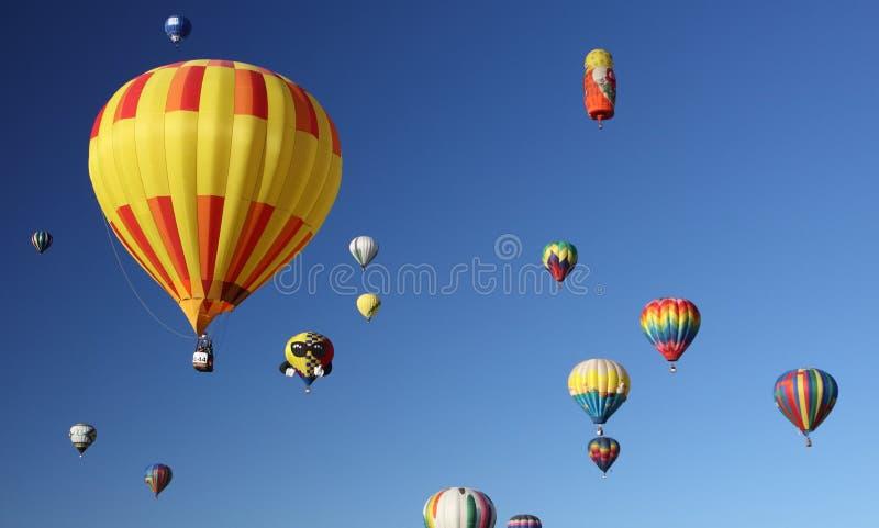 De Fiesta van de Ballon van Albuquerque stock afbeeldingen