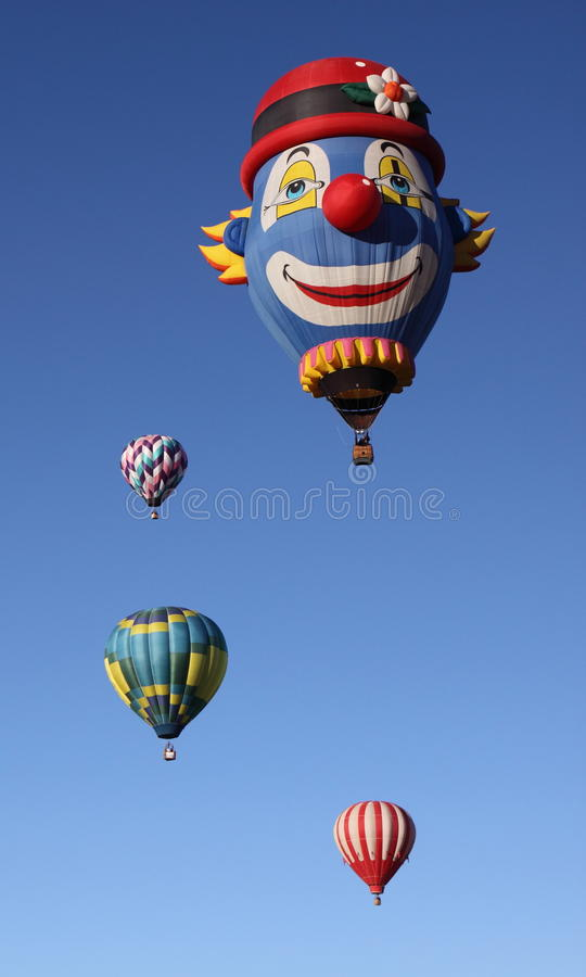 De Fiesta van de Ballon van Albuquerque stock foto