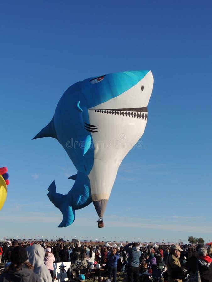 De Fiesta van de Ballon van Albuquerque, de Speciale Vorm van de Haai stock foto