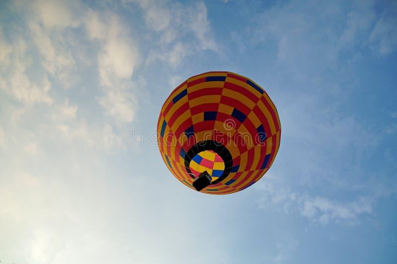 De fiesta van de hete luchtballon royalty-vrije stock afbeelding