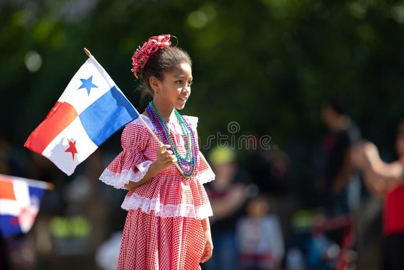 De Fiestagelijkstroom Parade stock foto