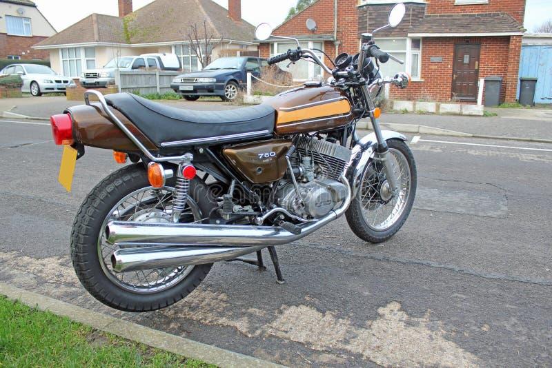 De fiets van de motor royalty-vrije stock afbeelding