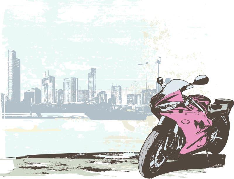 De fiets van de sport stock illustratie