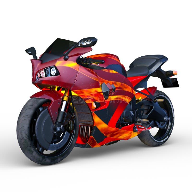 De fiets van straatsporten vector illustratie