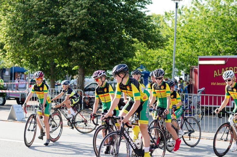 De fietsconcurrentie royalty-vrije stock fotografie