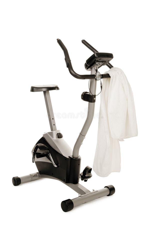 De fietsmachine van de gymnastiek royalty-vrije stock foto