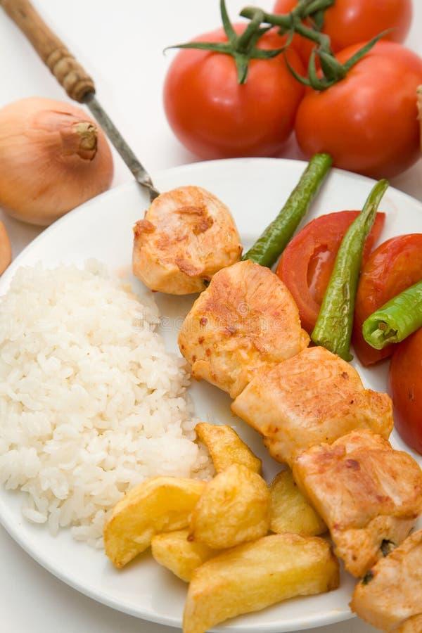 De filet van de kip stock afbeelding