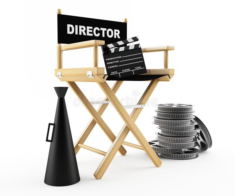 De film vector illustratie