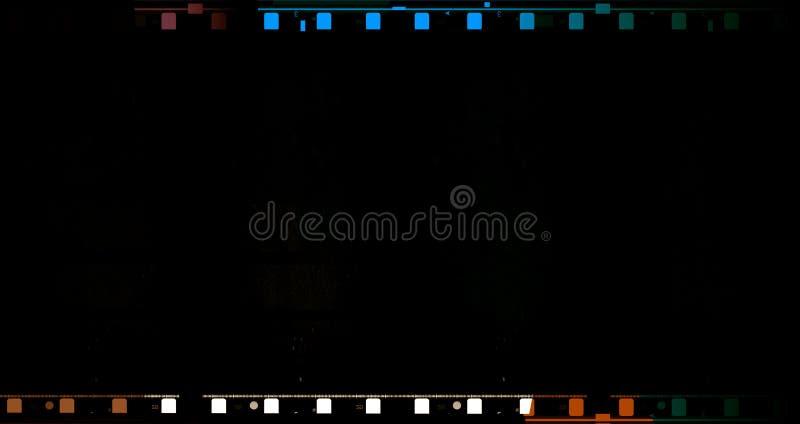 de Film van de 70 mmfilm royalty-vrije illustratie