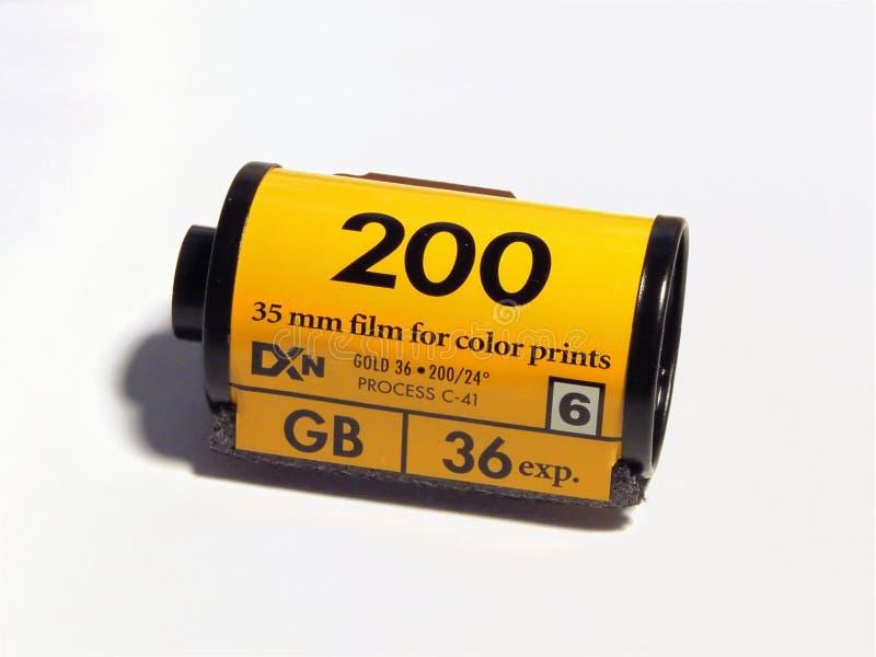 De film van de camera royalty-vrije stock afbeeldingen