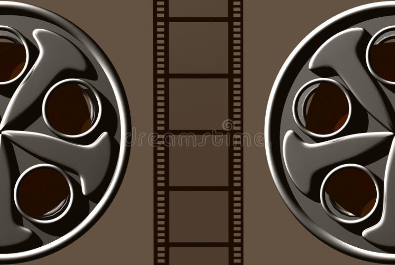 De Film van de film vector illustratie