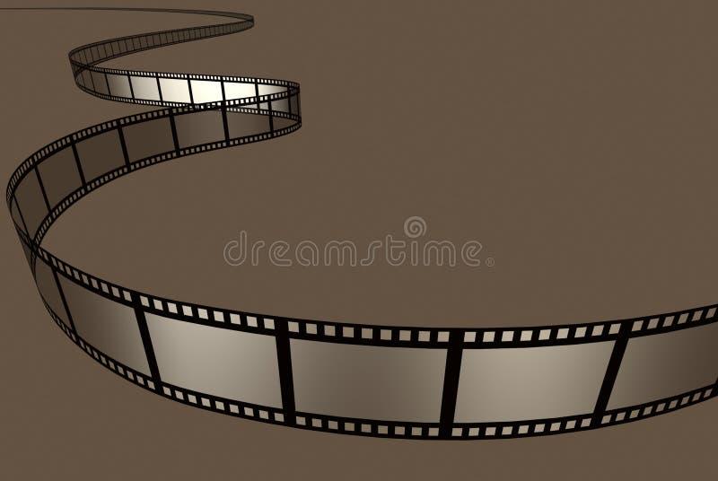 De Film van de film royalty-vrije illustratie