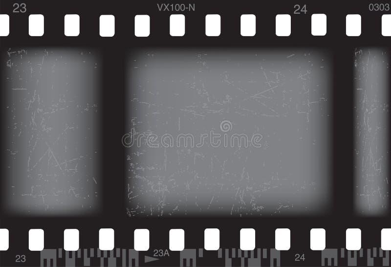 De film van de foto stock illustratie