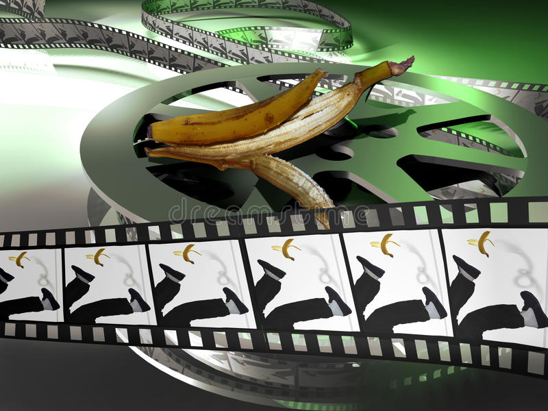 De film van de komedie royalty-vrije illustratie