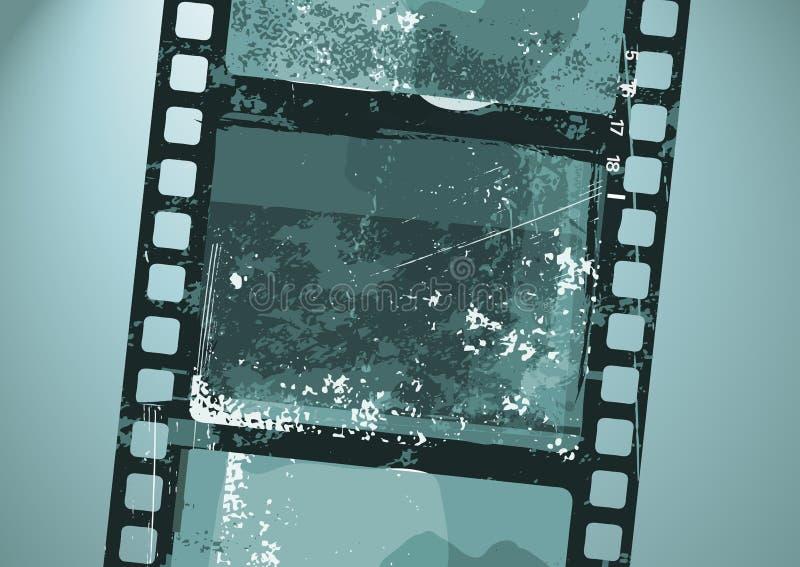 De Film van Grunge vector illustratie