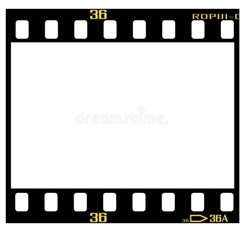 De filmframe van de dia stock illustratie