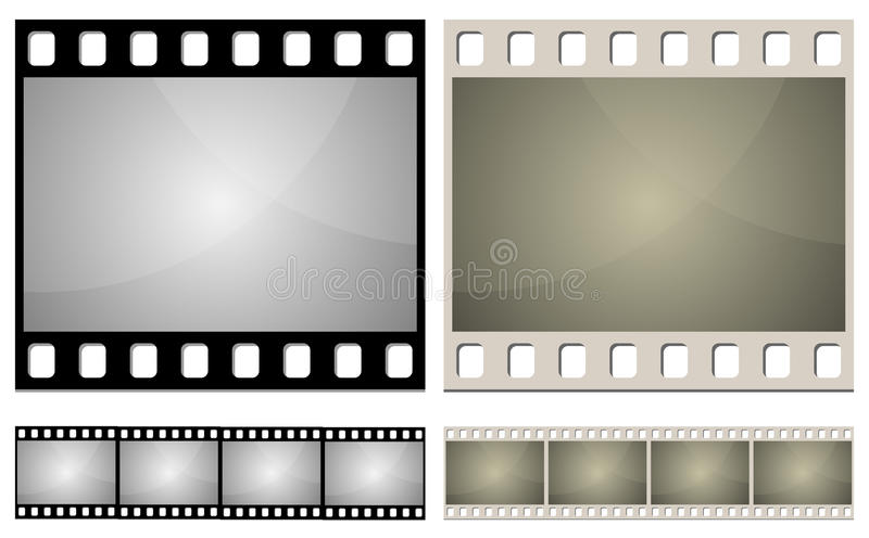 De filmframe van de foto royalty-vrije illustratie