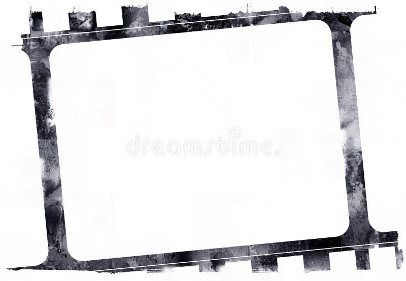 De filmframe van Grunge vector illustratie