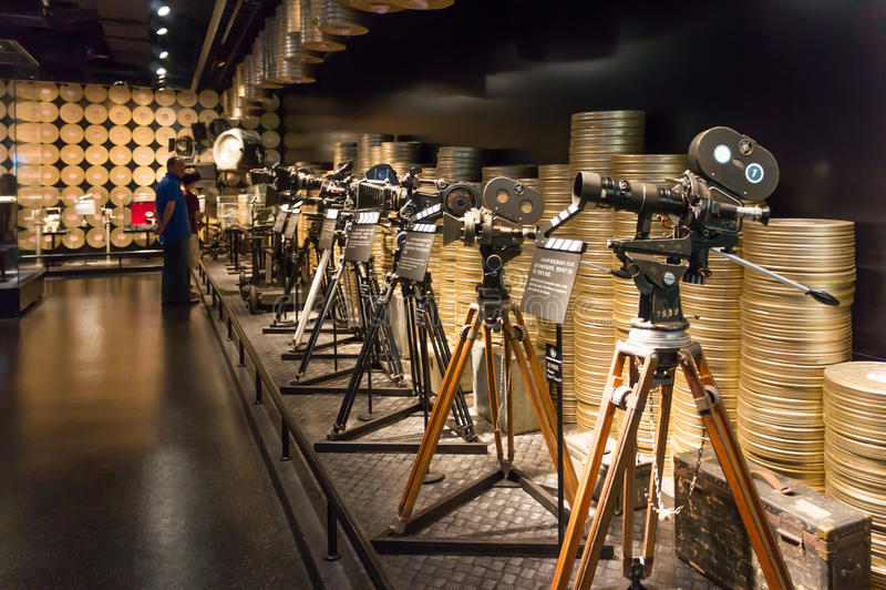 De Filmmuseum van China Shanghai stock foto's