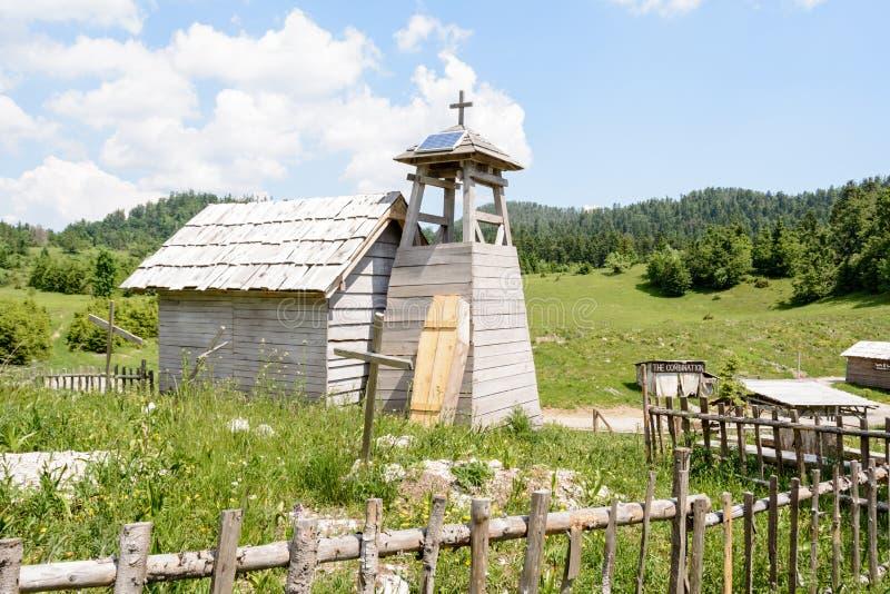 De filmreeks van het Abandonet wilde westen, Kroatië royalty-vrije stock foto