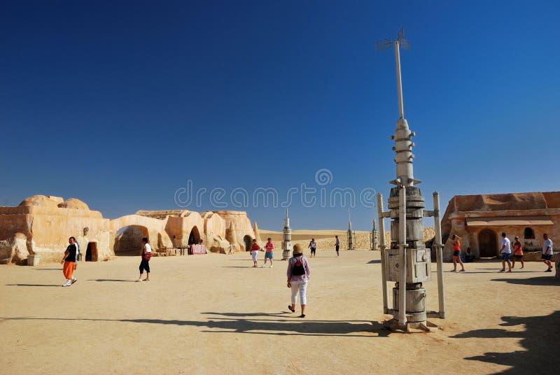 De filmreeks van Star Wars, Tunesië stock afbeelding
