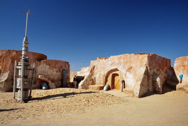 De filmreeks van Star Wars, Tunesië royalty-vrije stock afbeeldingen