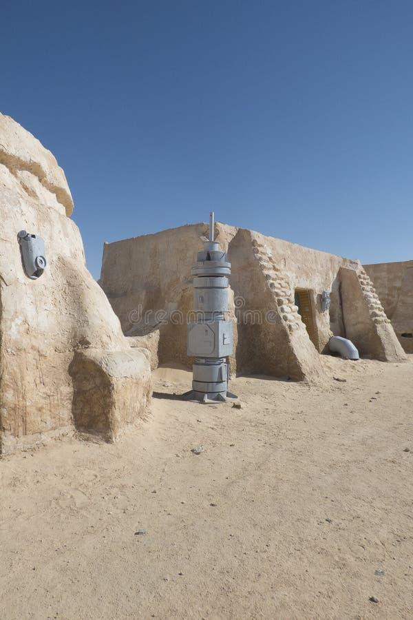 De filmreeks van Star Wars, Tunesië royalty-vrije stock foto's