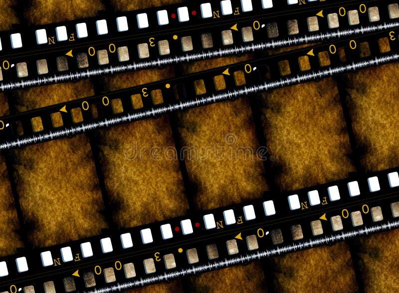de Films van de 35 mmfilm royalty-vrije illustratie