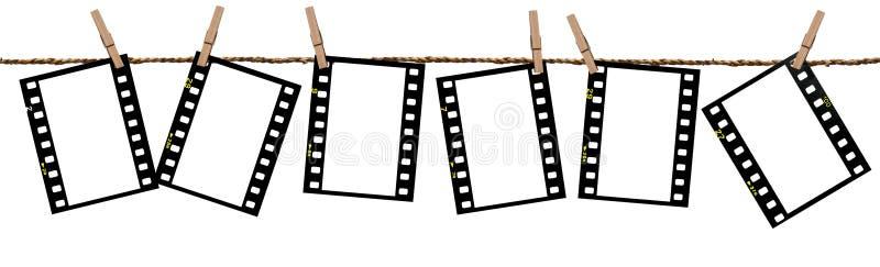 De films van de transparantie als achtergrond royalty-vrije stock foto's