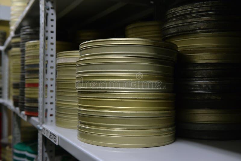 De films werden opgeslagen royalty-vrije stock foto's