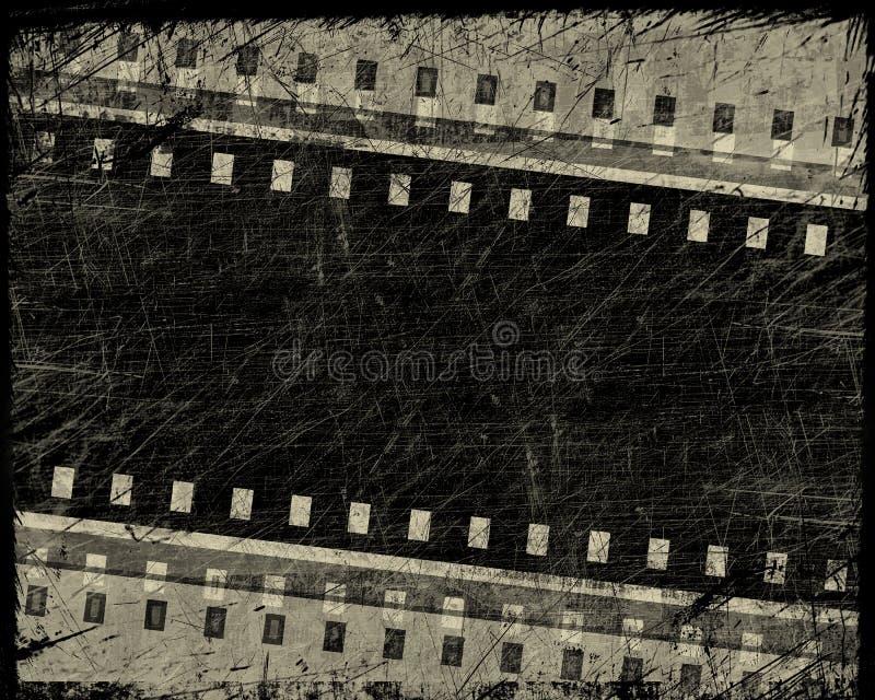 De filmstreep van Grunge vector illustratie