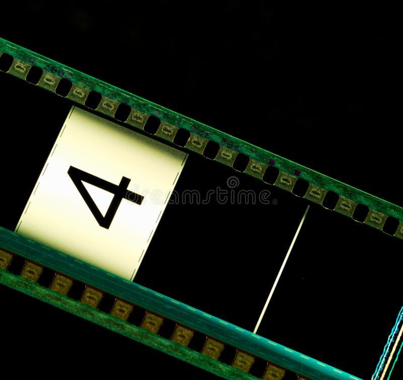 De filmstrip van de film royalty-vrije stock afbeeldingen