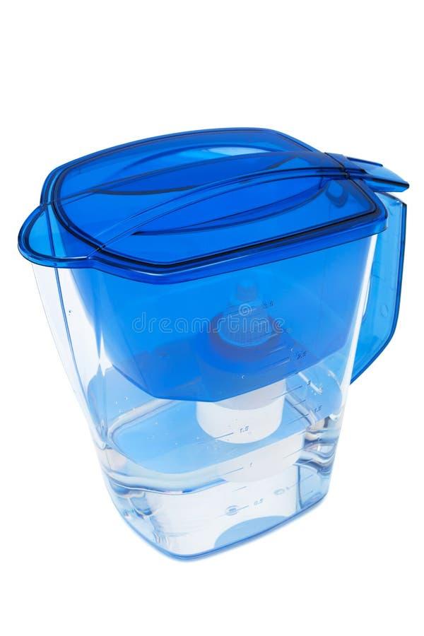De filter van het water stock foto