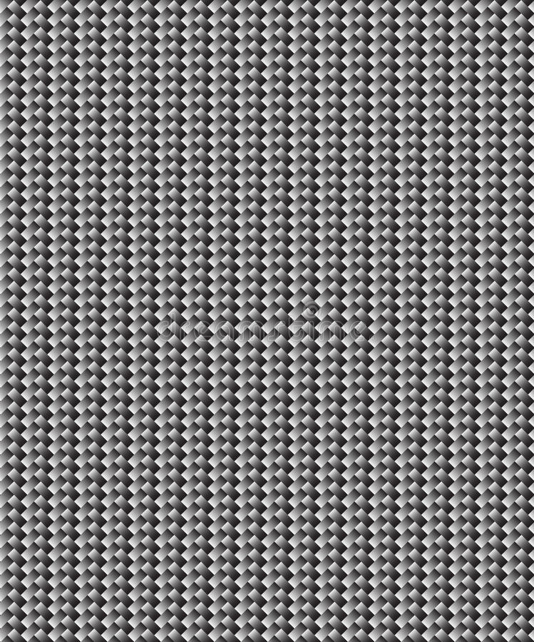De filtertextuur van de koolstof stock illustratie