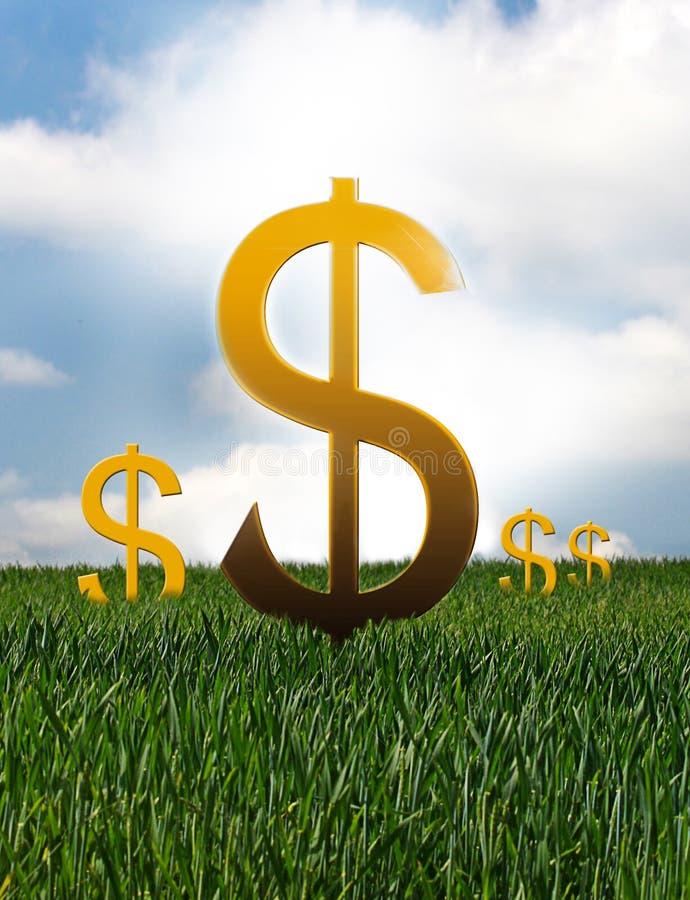 De financiële Groei royalty-vrije illustratie
