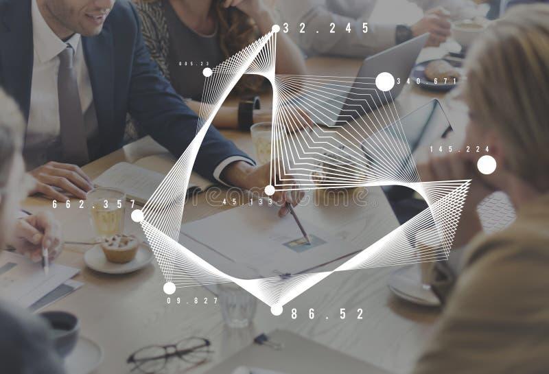 De Financiën van de de Statistiekengrafiek van grafiekanalytics incept stock afbeeldingen