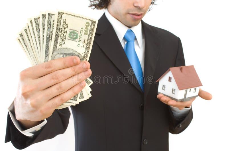 De financiën van onroerende goederen royalty-vrije stock afbeeldingen